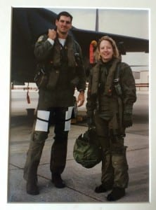 lisbeth after f15e ride 1994