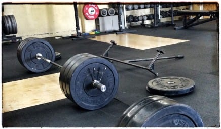 deadlifts at santa cruz strength
