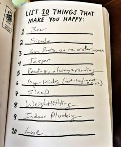 10 things that make you happy