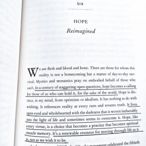 """From """"Becoming Wise"""" by Krista Tippett"""