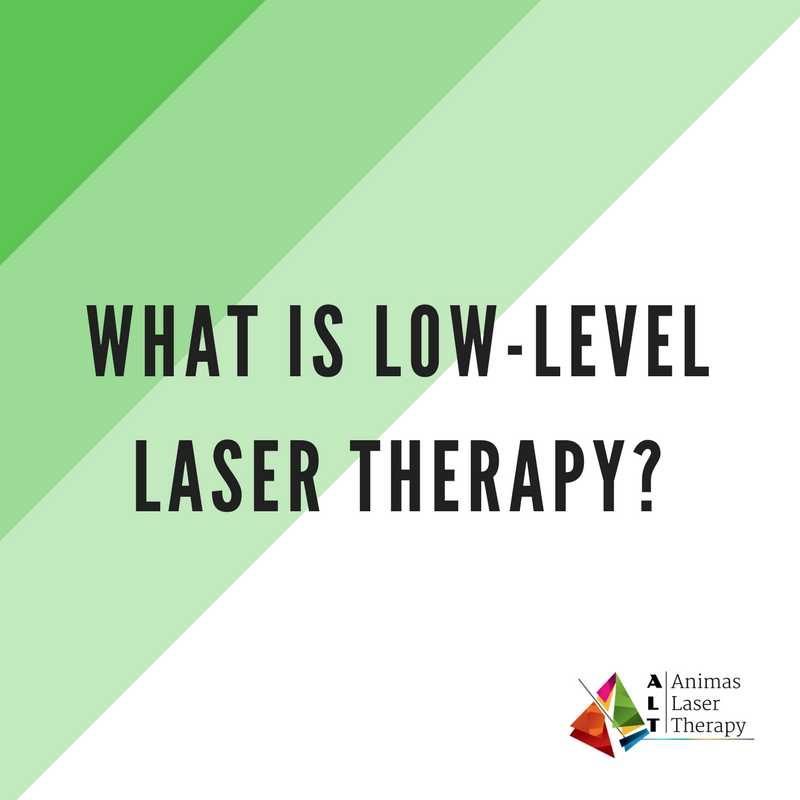 What is Low Level Laser Therapy