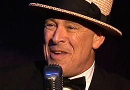 Ray Baker as Maurice Chevalier 2009