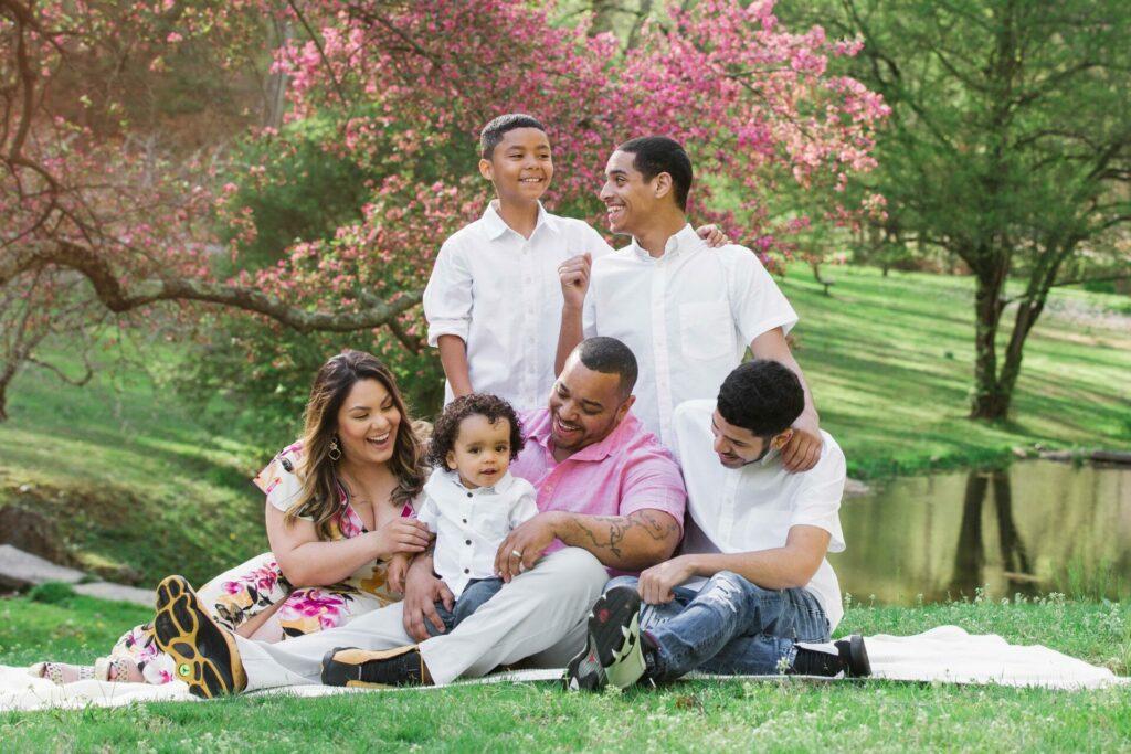 valley garden park family