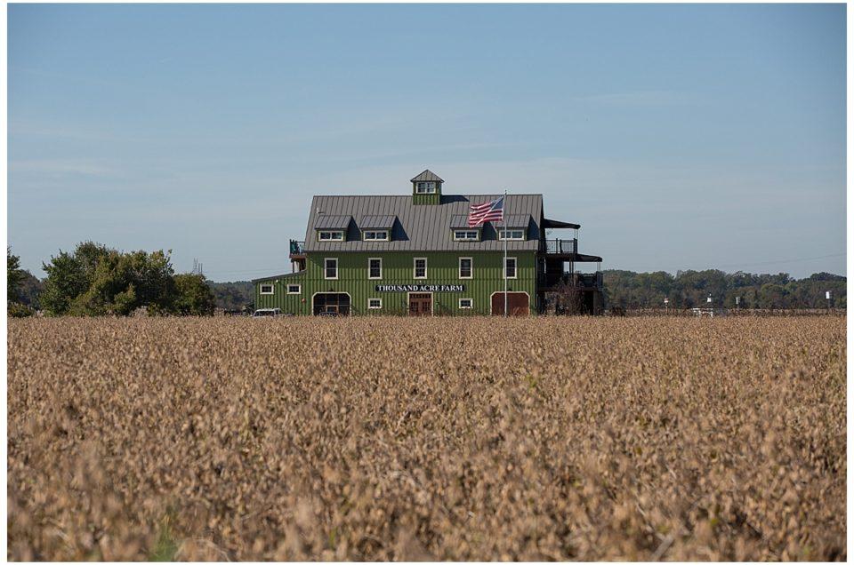 Sara & Dave's Thousand Acre Farm, Middletown, DE Wedding [Delaware Wedding Photographer]