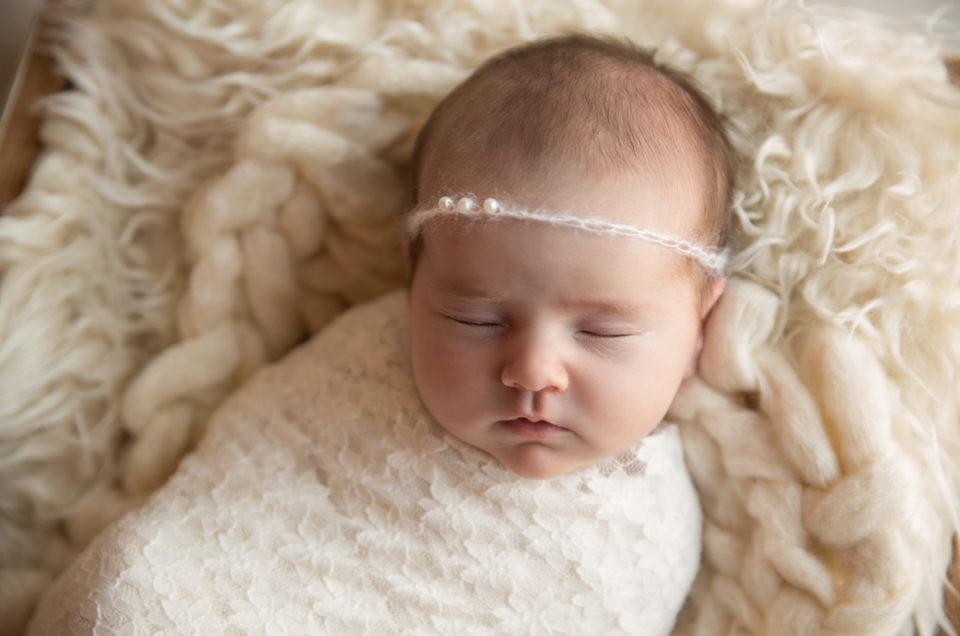 Baby M's Chic Newborn Session [Landenberg, PA, Chester County PA, Delaware Newborn Photographer]
