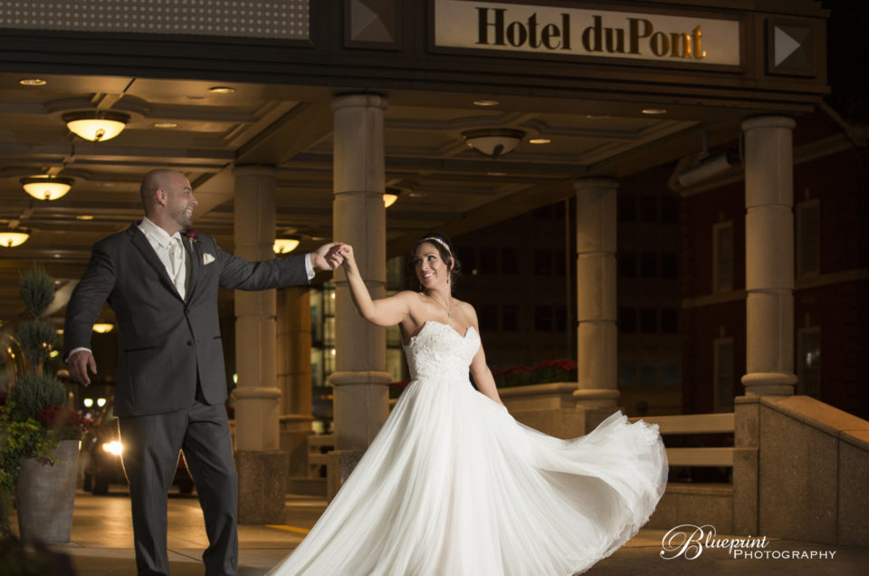 Victoria and Alan's Hotel DuPont Wedding [Delaware Wedding Photographer]