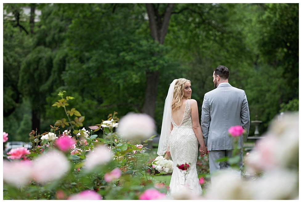 brandywine park rose garden wedding