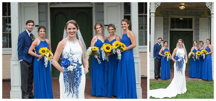 bridesmaids at belmont philly