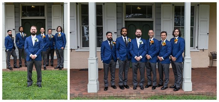 groomsmen at belmont in philadelphia