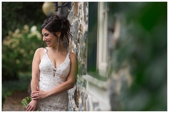 bride at rockwood mansion