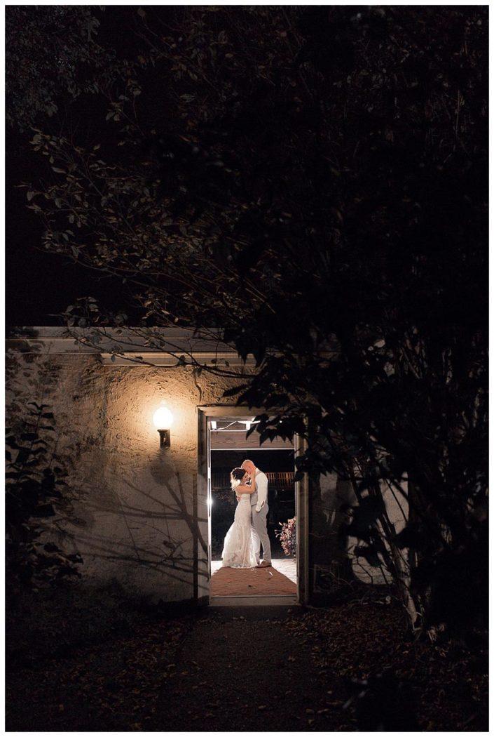 wedding shot night kennett square