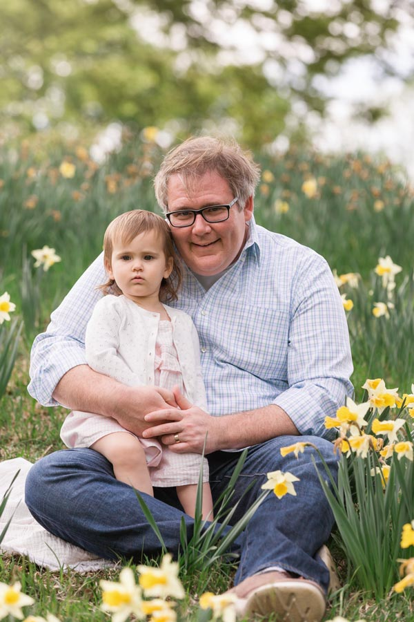 daddy daughter portrait