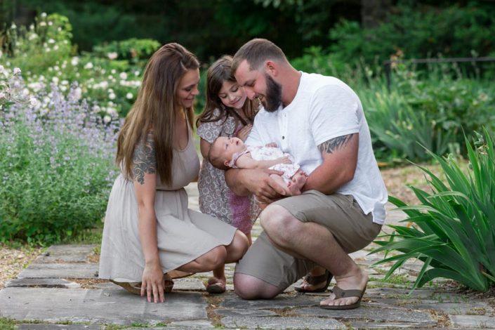 family photos in wilmington