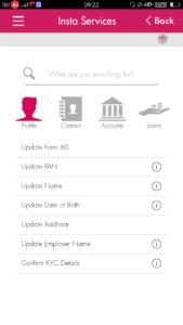 Axix bank account में Contact details कैसे अपडेट करें