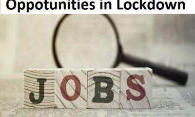 opportunities in lockdown