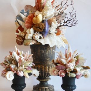 Seashell urns come in custom sizes