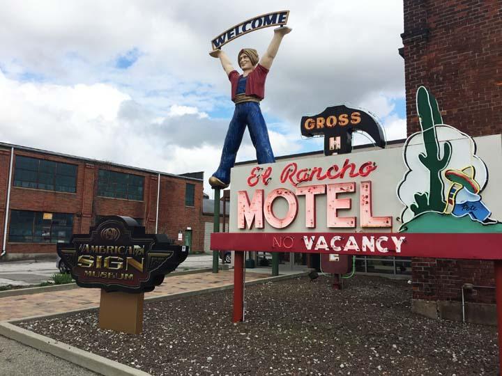Adventure: American Sign Museum