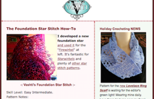 Foundation Star Stitch pattern, and new Lovelace Cowl pattern announcement