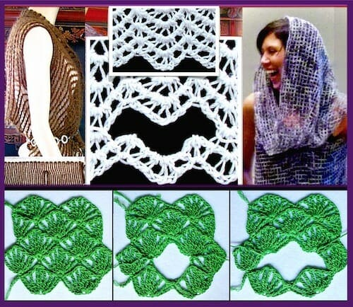 2018 Self-Healing Crochet Stitches and How to Cut Them Class by Vashti Braha