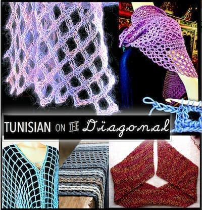 Official image for the 2018 Tunisian on the Diagonal class, Chain Link Conference, Portland OR