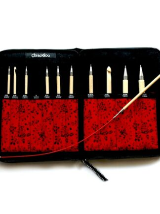 New Set of Tunisian Interchangeable Crochet Hooks by ChiaoGoo!