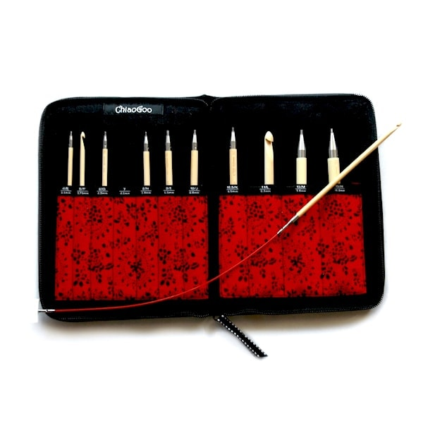 New Set of Tunisian Interchangeable Crochet Hooks by ChiaoGoo!