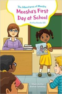 Meesha's First Day At School book cover