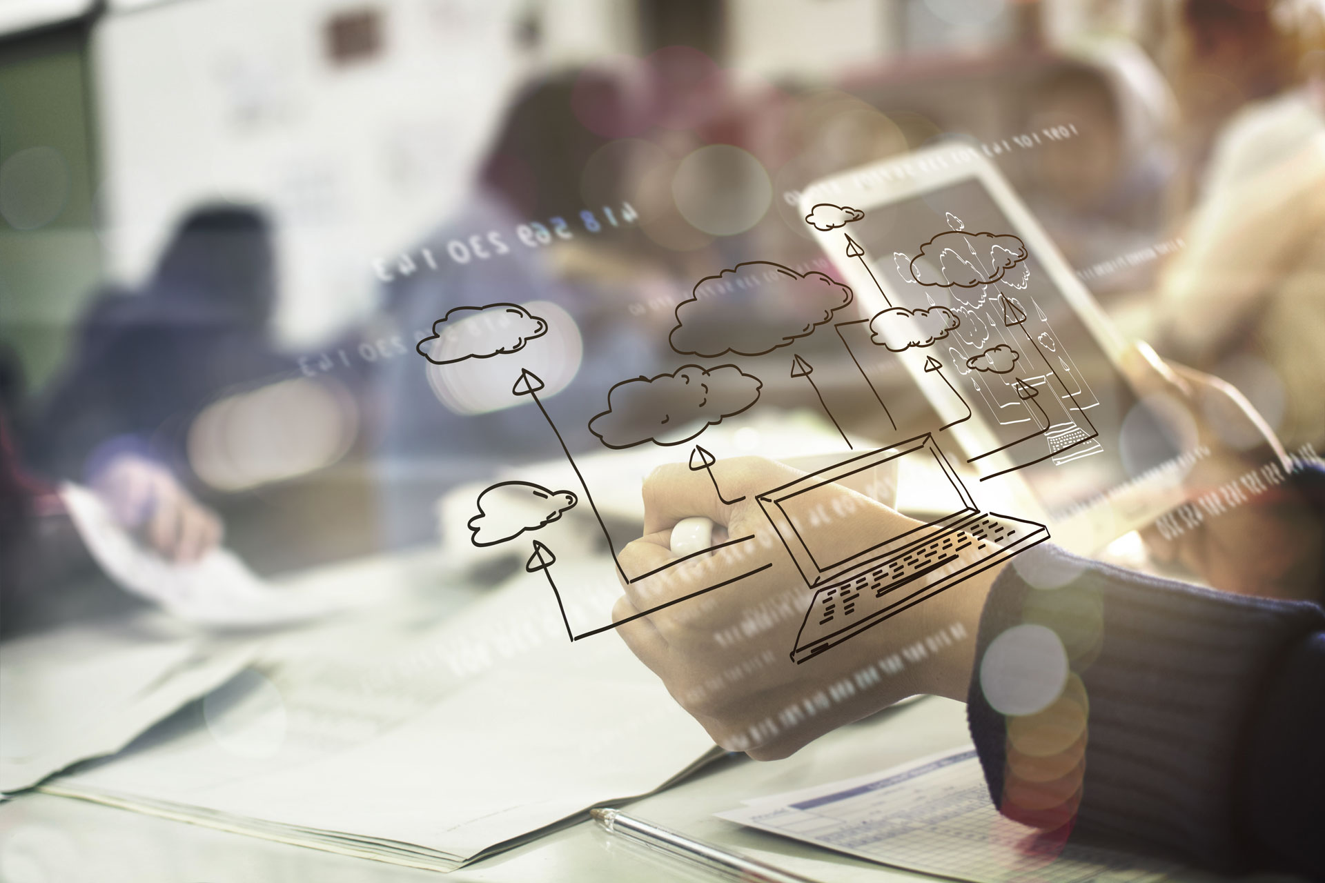 Cloud-based reporting and technology screen