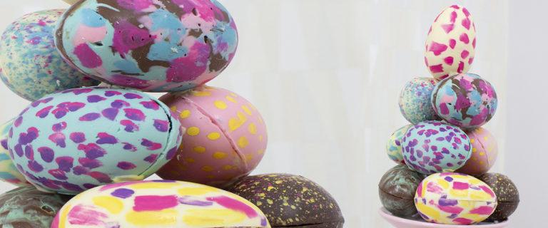 torre de ovos de páscoa decorados ovo de páscoa 2019