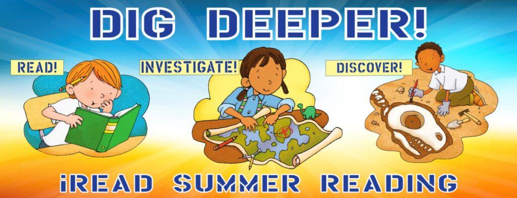 Youth Grades K through Grade 5 Summer Reading Program