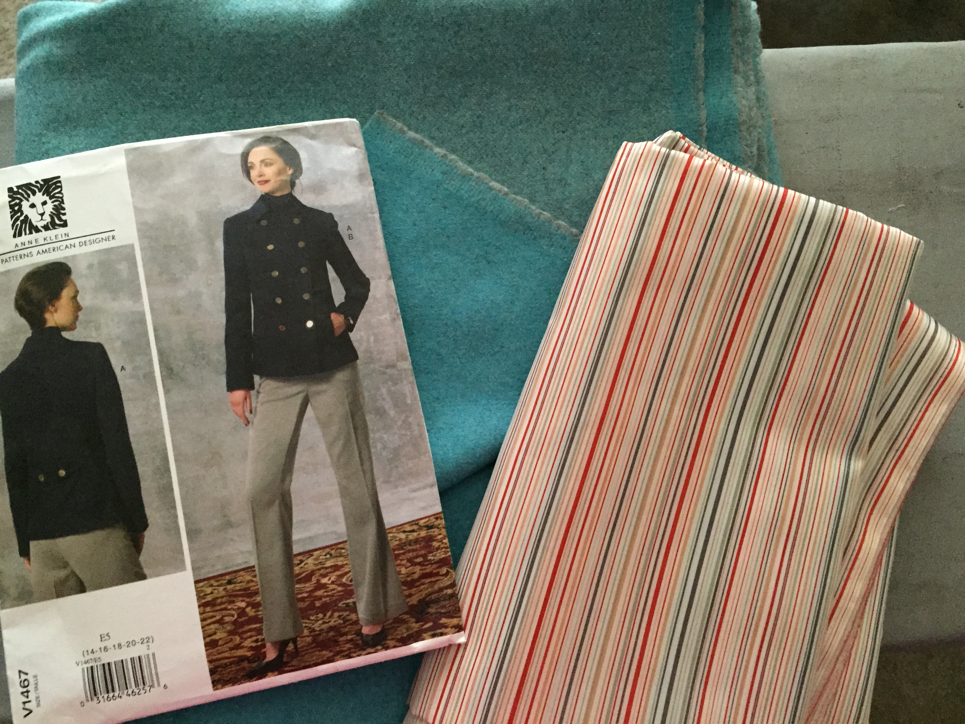 Italian Nassau Blue Wool / Cashmere