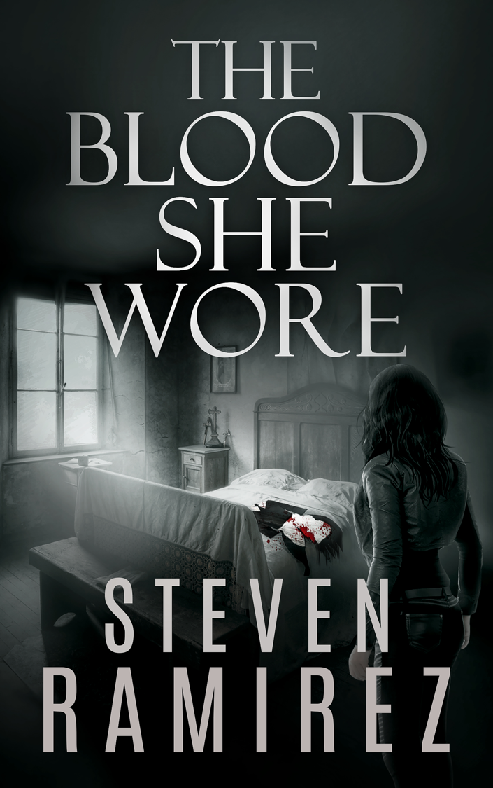 [The Blood She Wore Book Cover]