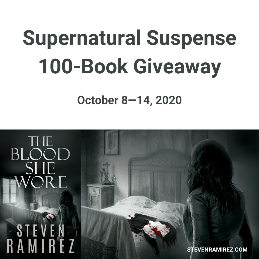 [Supernatural Suspense Giveaway]