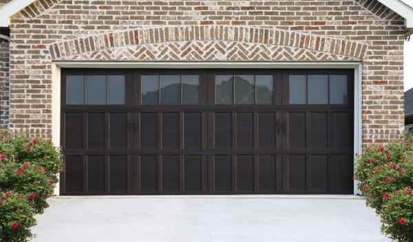 faux wood garage doors lubbock