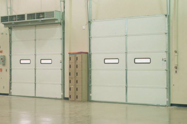 insulated warehouse doors lubbock