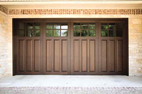 wood garage doors in lubbock
