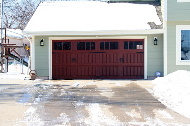 insulated garage door benefits