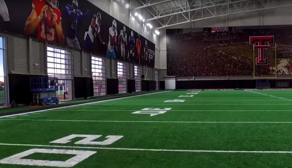 new texas tech practice facility