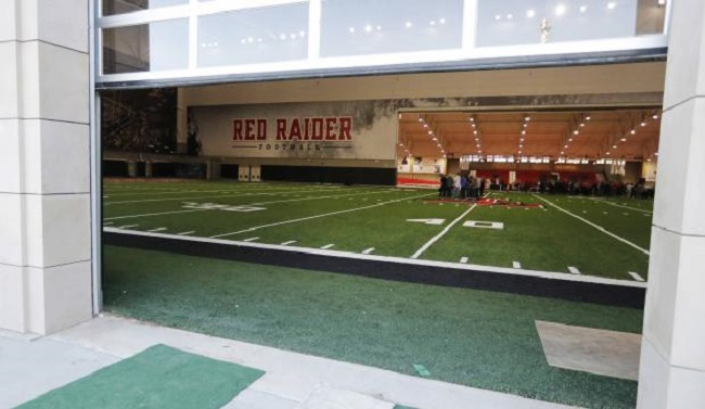 new texas tech sports football facility