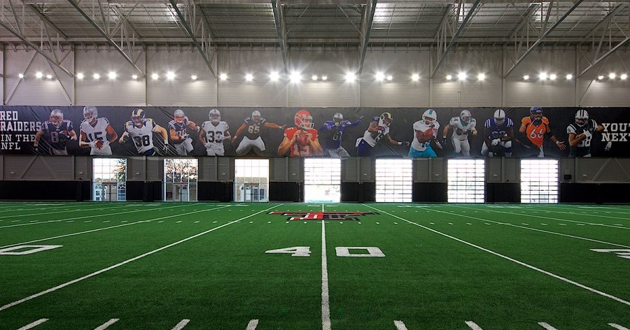 texas tech practice facility doors