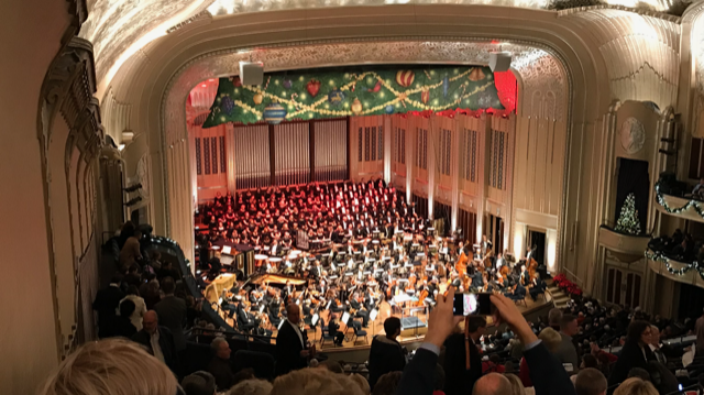 Cleveland Orchestra Christmas Concert – Tradition #6