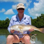 Islamorada Redfish On Fly