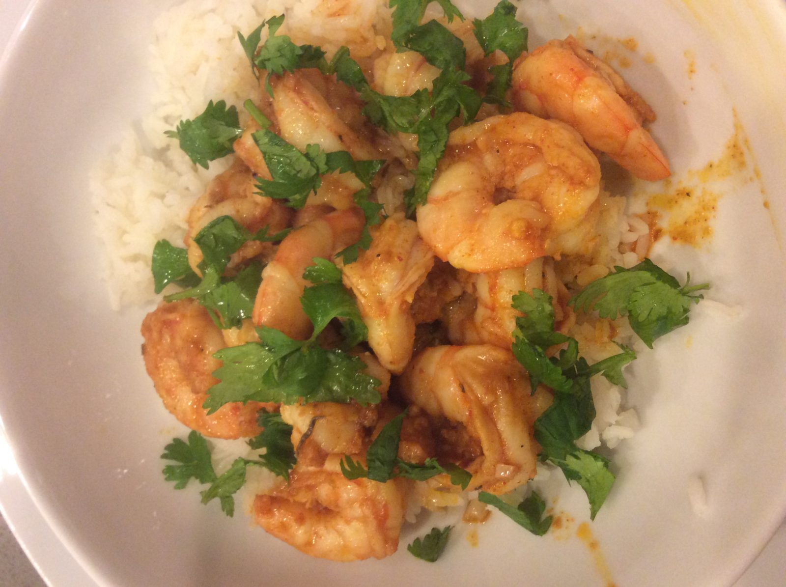 Garlic Chilli Lime Shrimp
