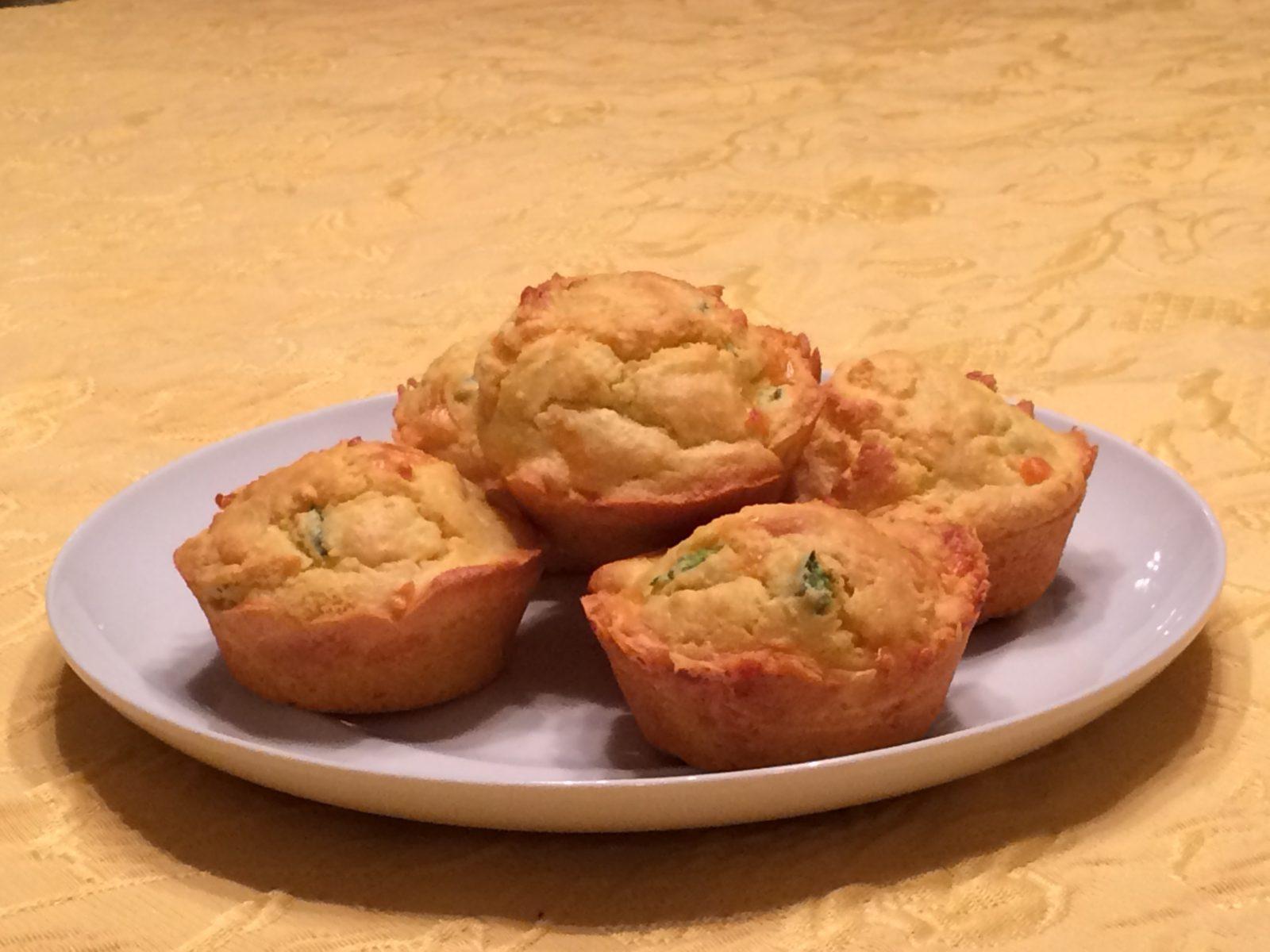 Jalapeño Cheddar Cornbread Muffin