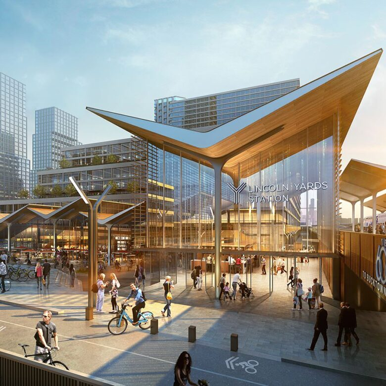 A rendering of Lincoln Yards. Sterling Bay/SOM