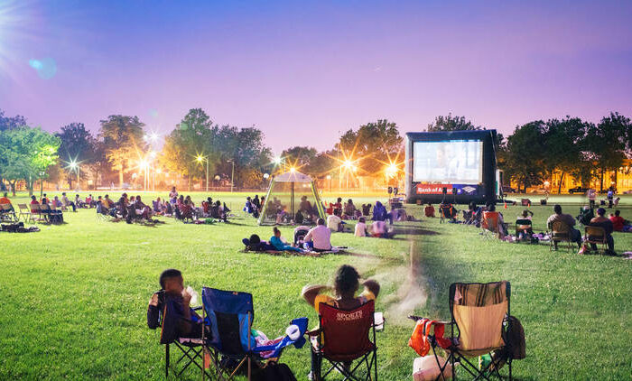الأفلام في المنتزهات