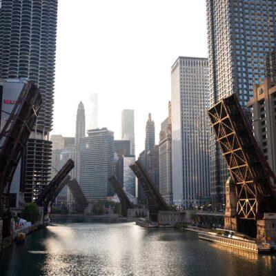 رفع الجسور الخريفي في شيكاغو يبدأ يوم الأربعاء المقبل