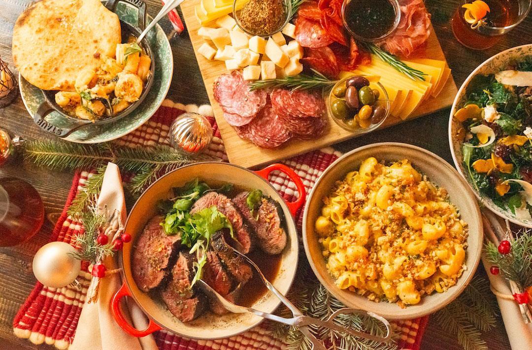 مطاعم تقدم وجبات جاهزة في عيد الميلاد في شيكاغو