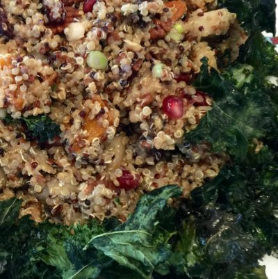 Quinoa with Roasted Butternut Squash