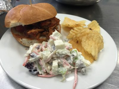Pulled Pork with Homemade Coleslaw